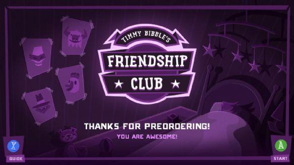《蒂米毕比的友谊俱乐部》游戏截图