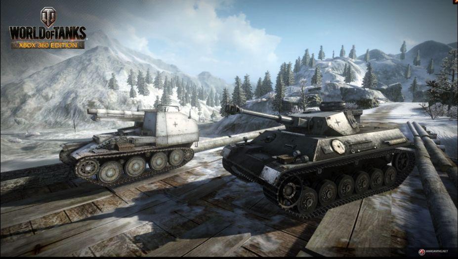 《坦克世界》游戏截图