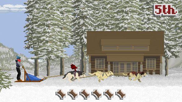 《狗拉雪橇传奇》游戏截图