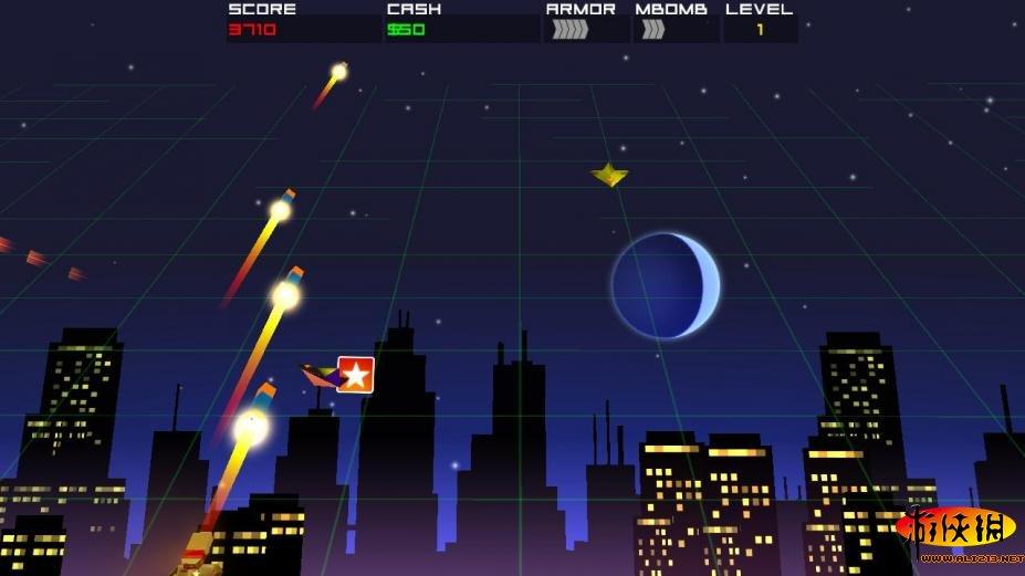 《宇宙火箭塔防》游戏截图