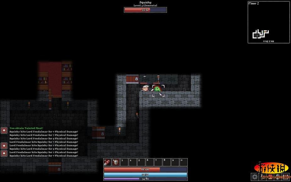 《幽闭恐惧症:向下斗争》游戏截图
