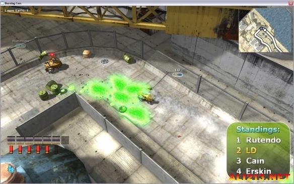 《燃烧战车》游戏截图