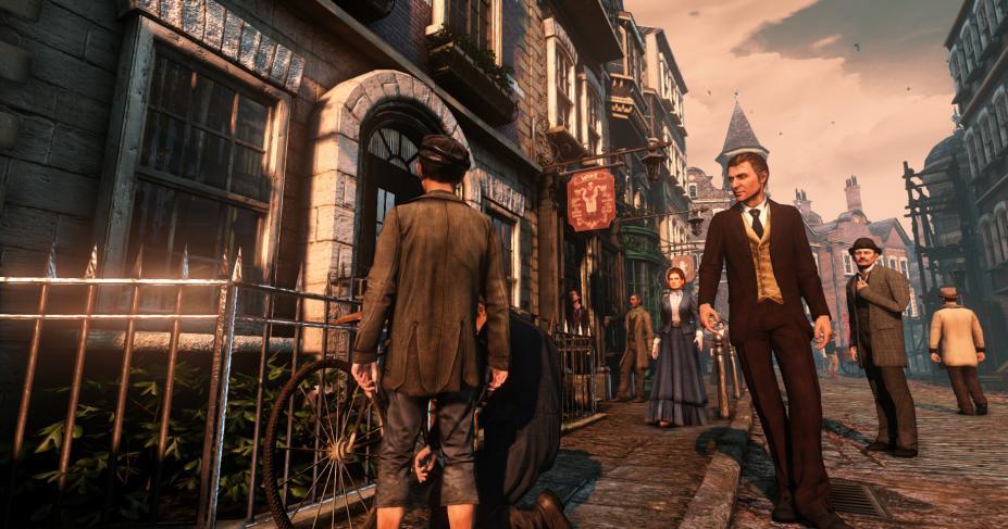 《福尔摩斯:罪与罚》游戏截图