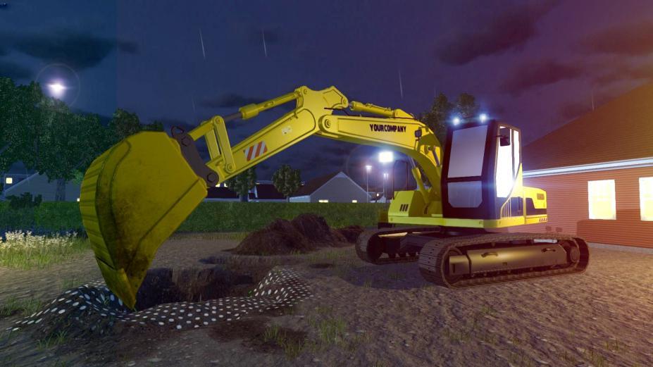 《模拟挖掘机》游戏截图
