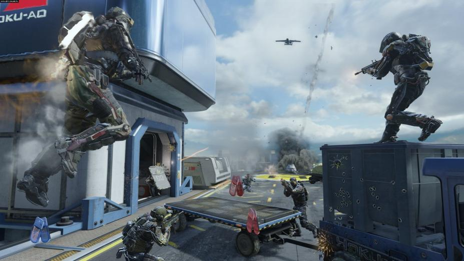 高级战争3_《使命召唤11:高级战争》游戏截图-2