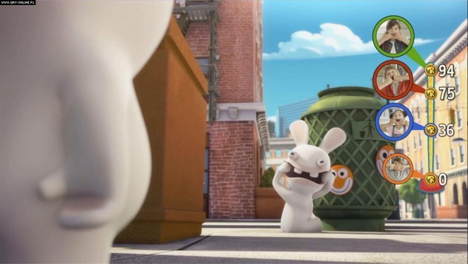 《疯兔入侵:互动电视剧》游戏截图