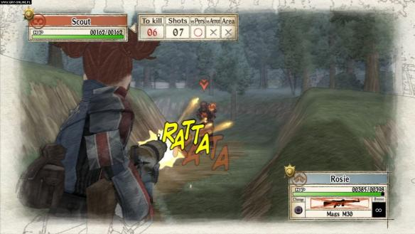 《战场女武神》游戏截图-2
