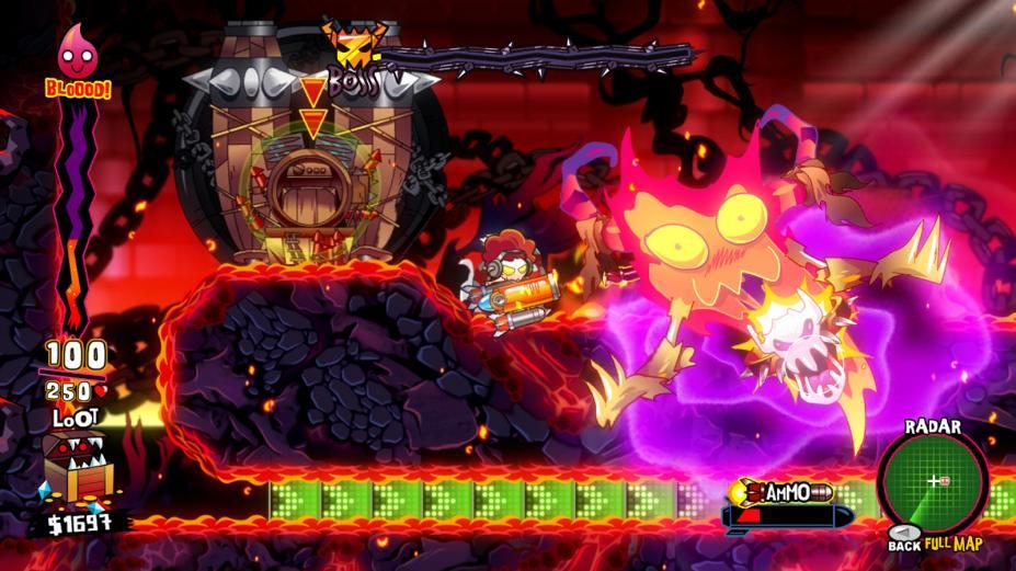 《地狱呀愤怒的死亡兔子》游戏截图
