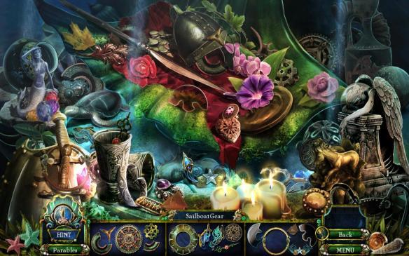 《黑暗寓言 8:小美人鱼与紫色潮汐》游戏截图