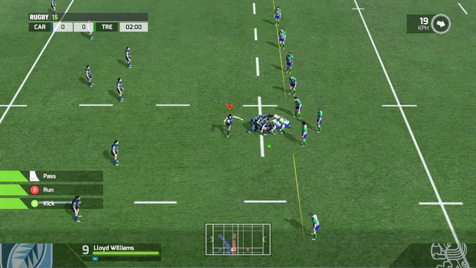 《橄榄球15》游戏截图