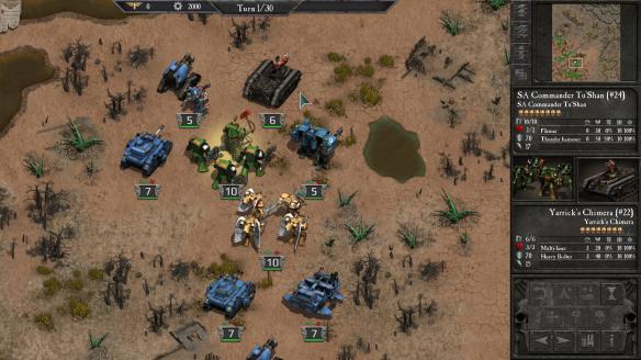 《战锤40k:末日之战》游戏截图