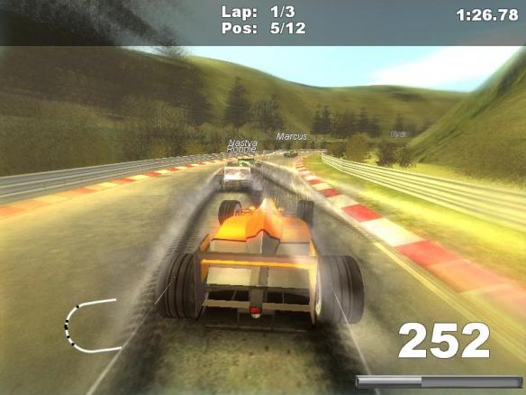 《F1方格旗》游戏截图