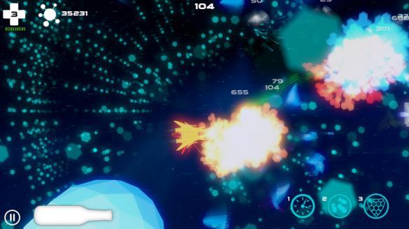 《宇宙入侵战》游戏截图