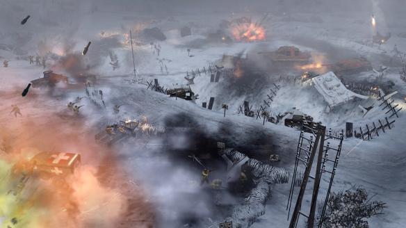 《英雄连2:阿登突击》游戏截图