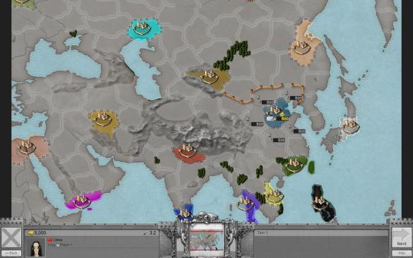 《征服时代3》游戏截图