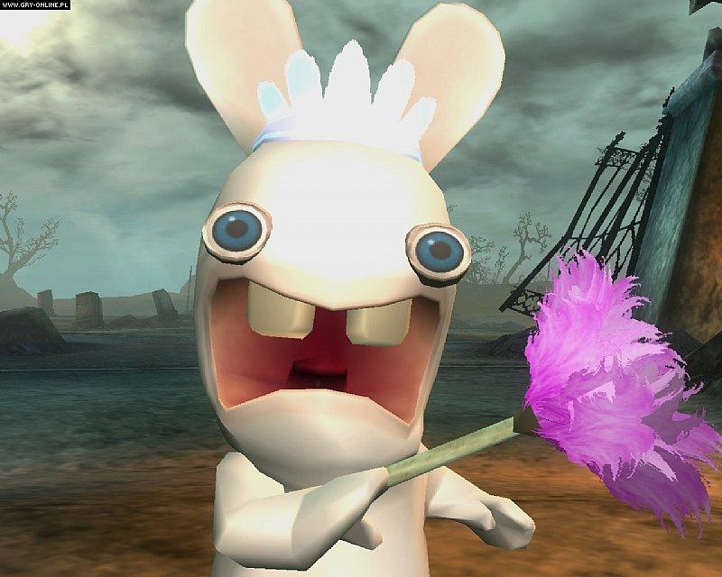 《雷曼4疯狂的兔子》游戏截图