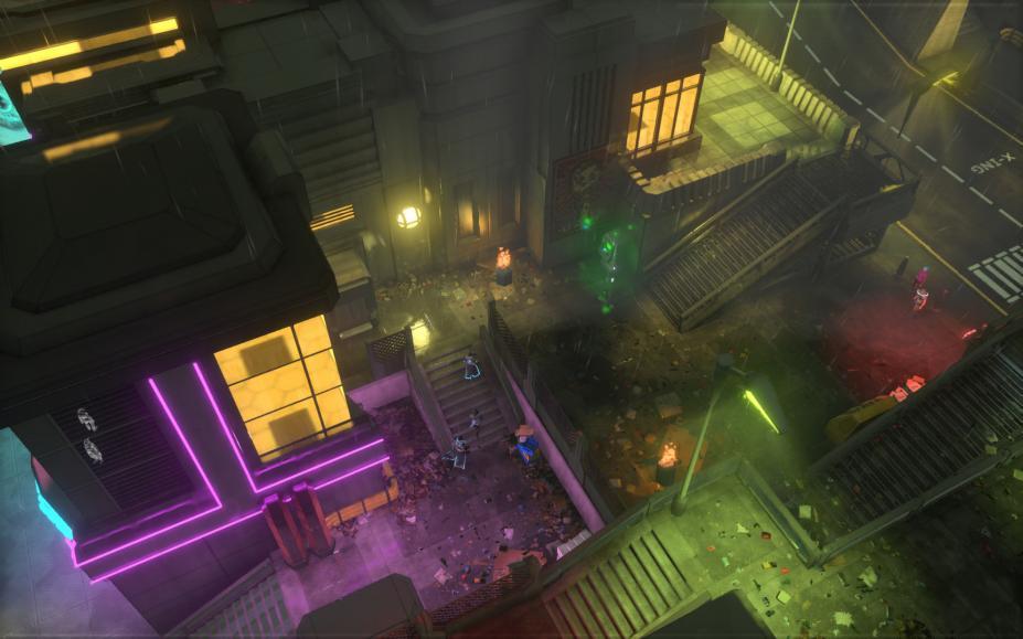 《卫星统治》游戏截图