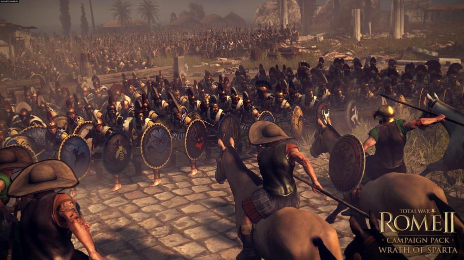 《罗马2:全面战争-斯巴达之怒》游戏截图