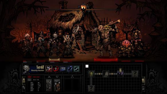 《暗黑地牢》游戏截图