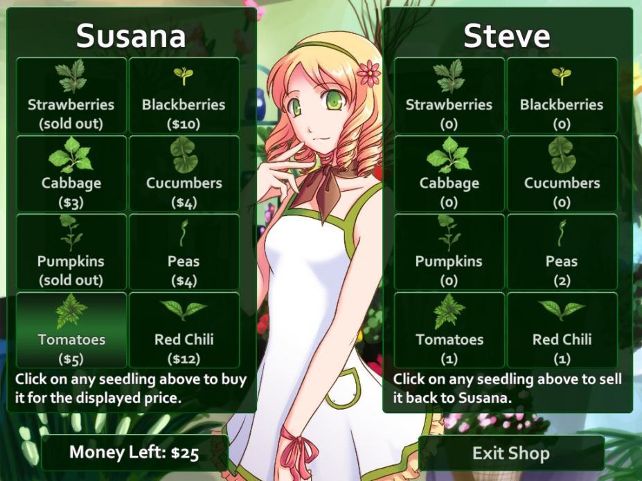 《恋爱花店》游戏截图
