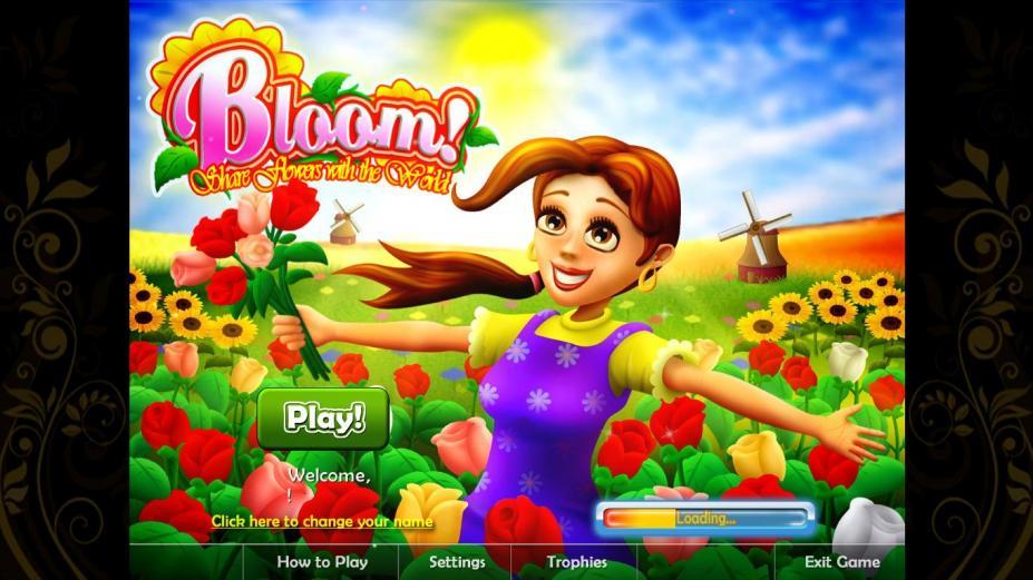 《向世界绽放鲜花》游戏截图