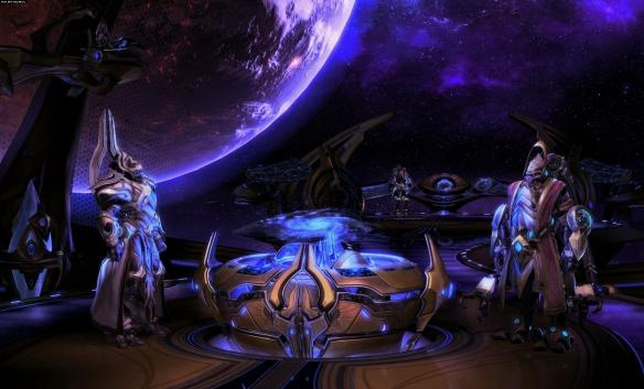 《星际争霸2:虚空之遗》游戏截图