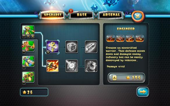 《玩具塔防4:星海战争》游戏截图
