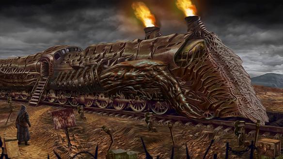 《迷幻追踪:黑暗之伤》游戏截图