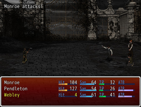 《麦巴拉的黑暗之石》游戏截图