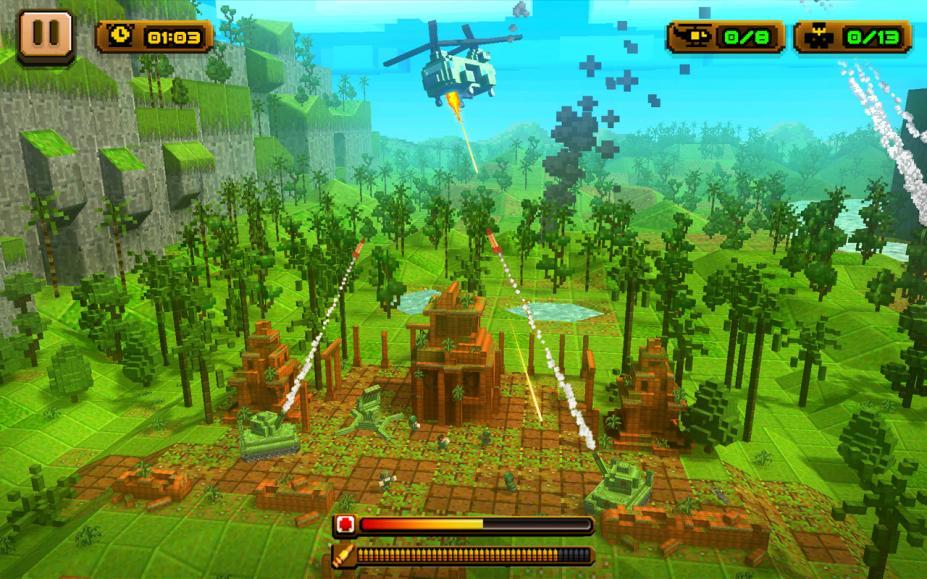 《越南大救援》游戏截图