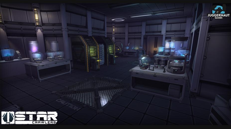 《星际爬行者》游戏截图