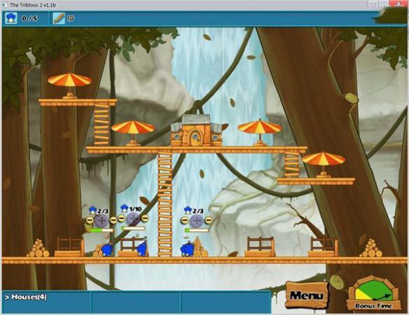 《毛球部落2》游戏截图