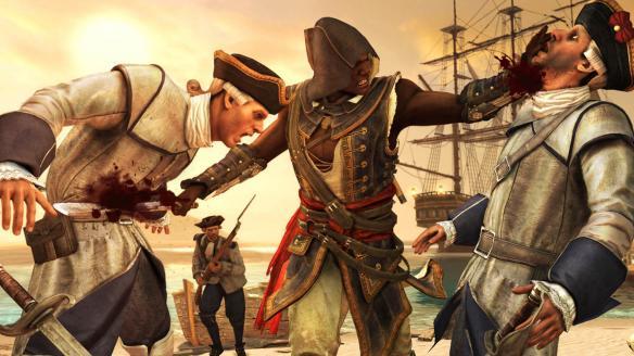 《刺客信条:自由呐喊》游戏截图