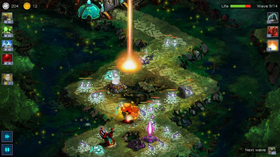 《远古行星》游戏截图