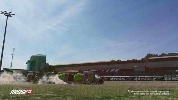 《世界摩托大奖赛15》视频截图