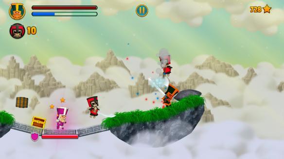 《云端骑士》游戏截图