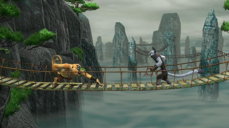 《功夫熊猫:传奇对决》游戏截图