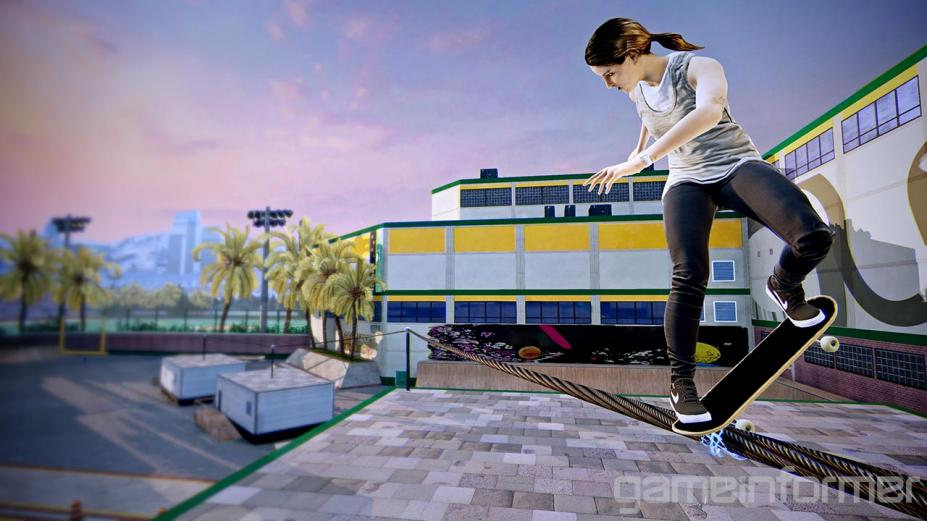《职业滑板高手5》游戏截图-4