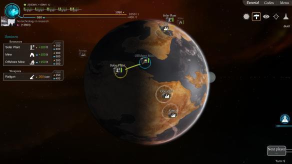 《星际炮火》游戏截图