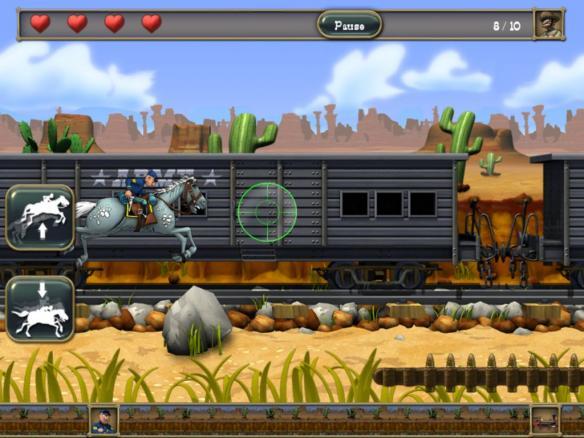 《蓝衫军:南北战争》游戏截图