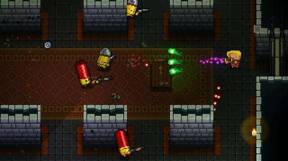 《挺进地牢》隐藏角色子弹与机器人用法心得