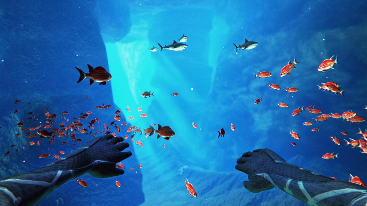 光盘创意美术海底世界手工制作