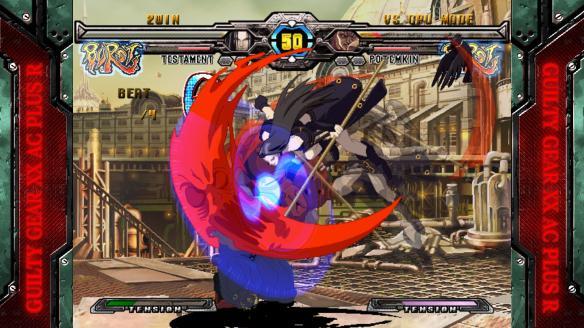 《罪恶装备XXAC:加强版》游戏截图