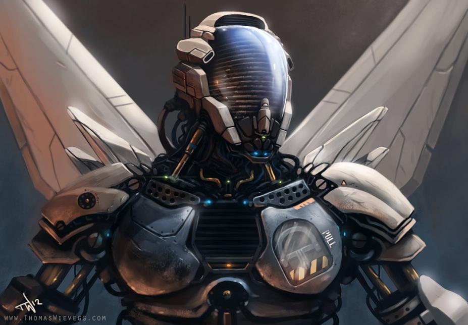 超酷炫机器人海量原画设定赏析
