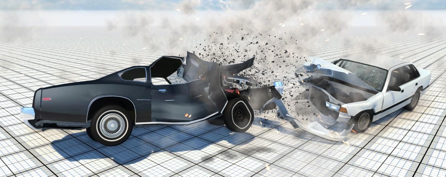 拟真车祸模拟/BeamNG.drive插图1