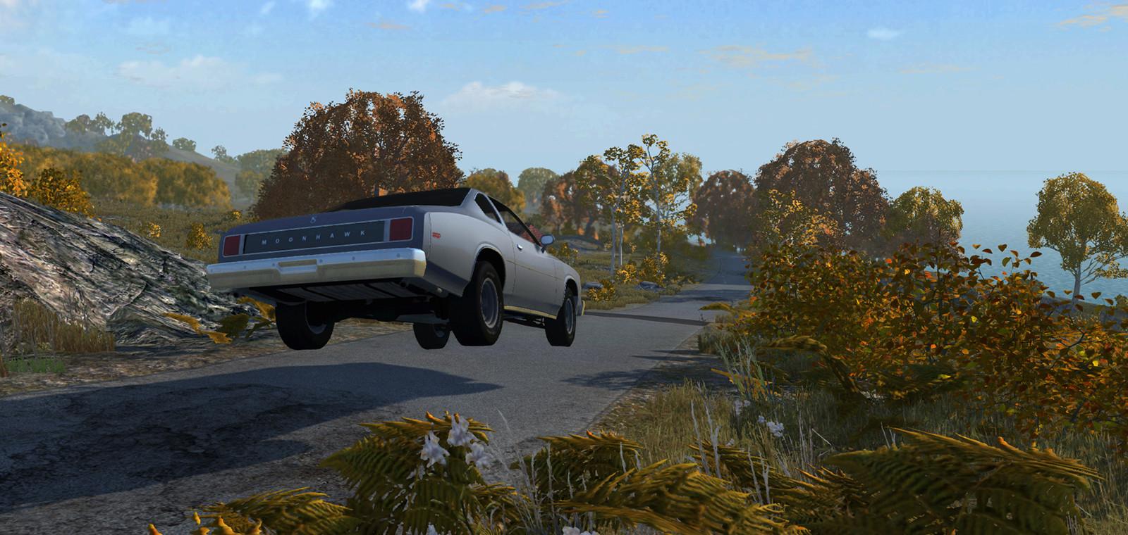 拟真车祸模拟/BeamNG.drive插图4