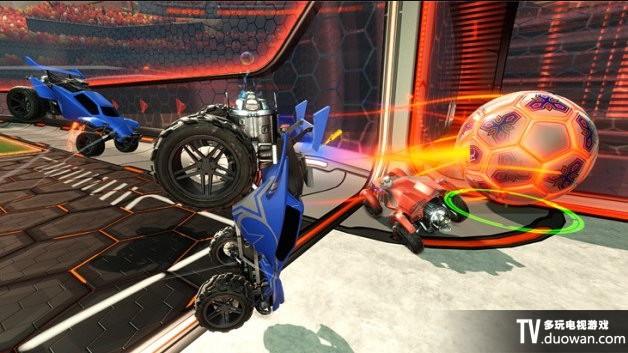 《火箭联盟》游戏截图