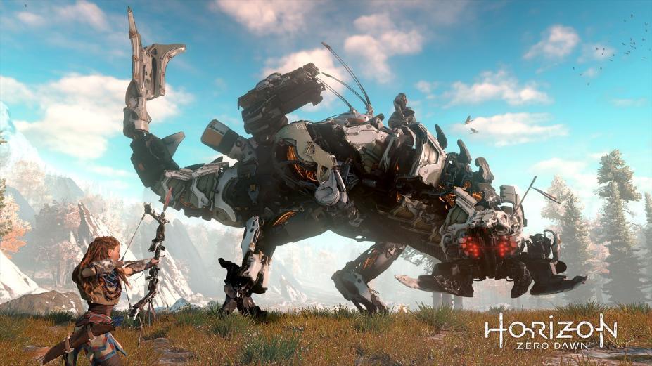 《地平线:黎明时分》游戏截图-4