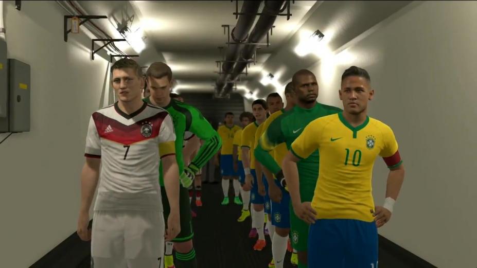 《实况足球2016》游戏截图