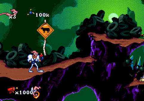 《蚯蚓战士》游戏截图